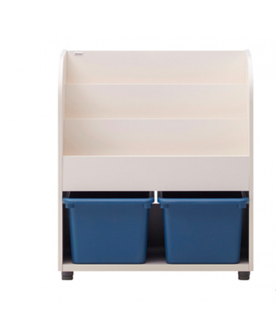 ILOOM  FRONT TYPE BOOK SHELF  BLUE HSFA062 IVKB